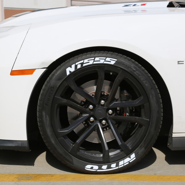 nitto tires with white lettering nitto nt555 tire stickers canada 23783 | Chevy Camaro ZL1 Tire Stickers White Nitto NT555 tire lettering 7 600x600