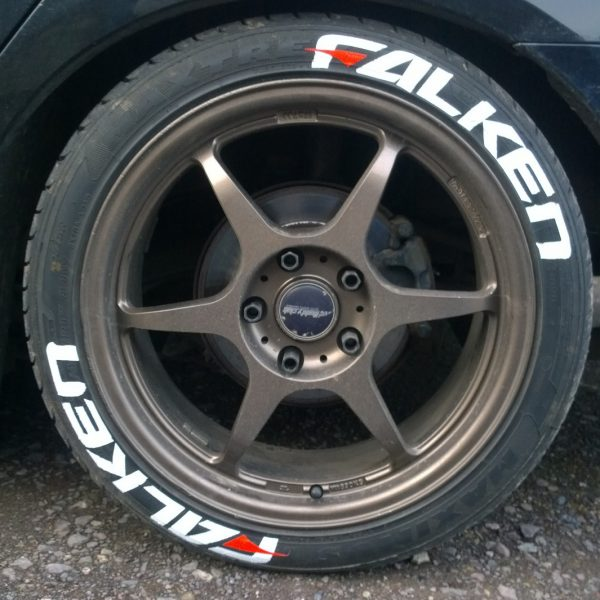 falken white letter tires falken with dash tire stickers canada 16366