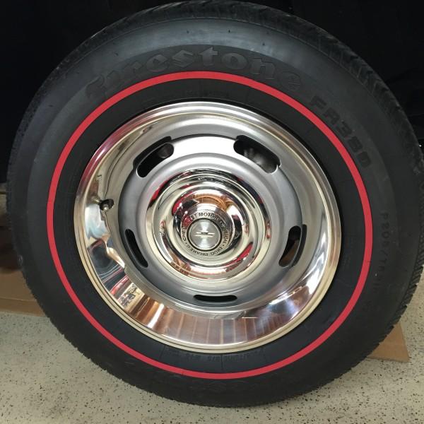 tire Vintage redline