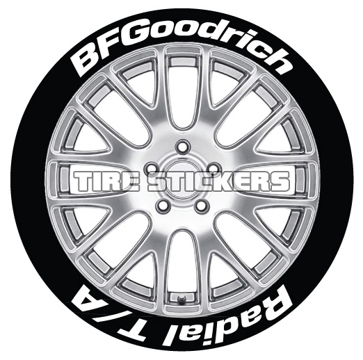 BF Goodrich Radial T/A – Tire Stickers Canada