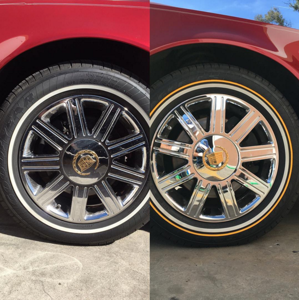 White Tire Paint >> White Walls – Tire Stickers Canada