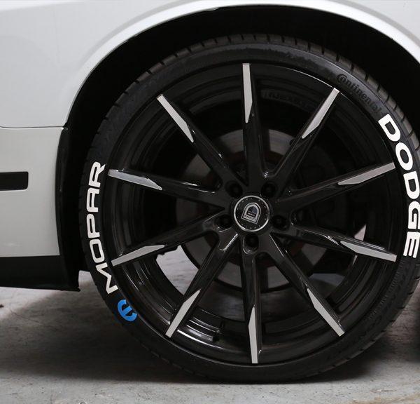 Dodge Mopar Srt Tire Stickers Canada