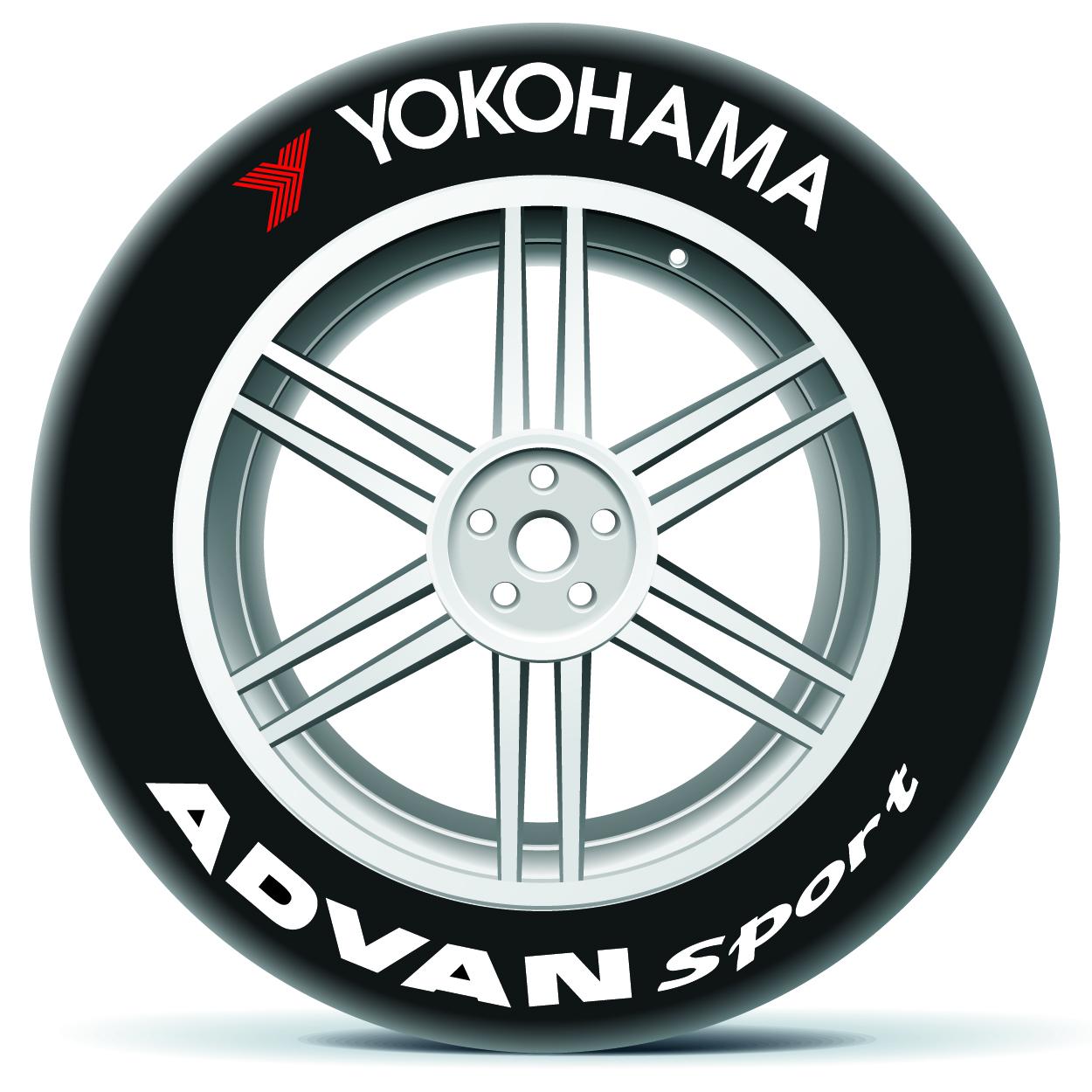 Yokohama Tire Lettering >> Yokohama On Top And Advan Sport Tire Stickers Canada