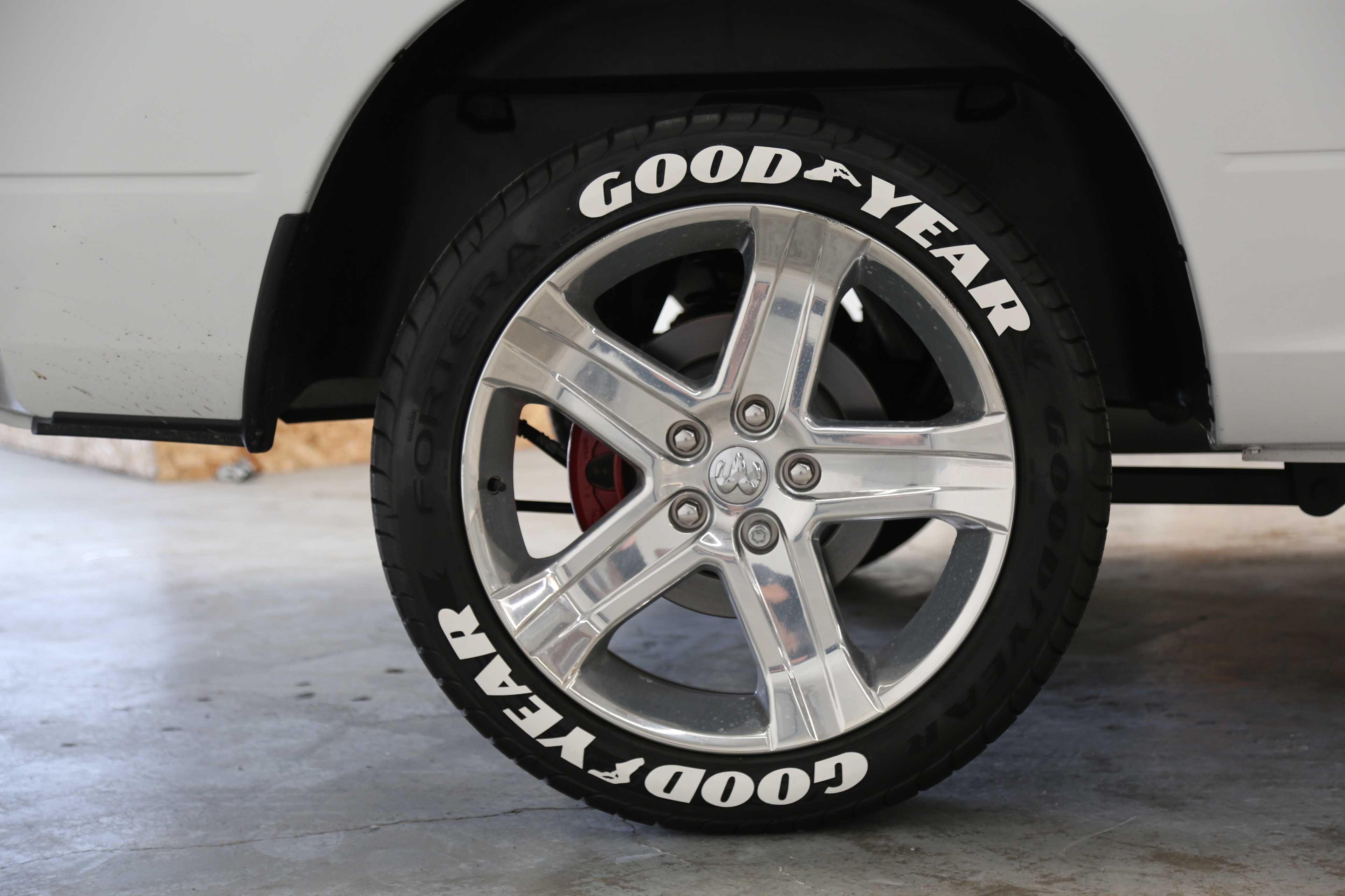 Officially Licensed Goodyear Tire Lettering – Tire ...